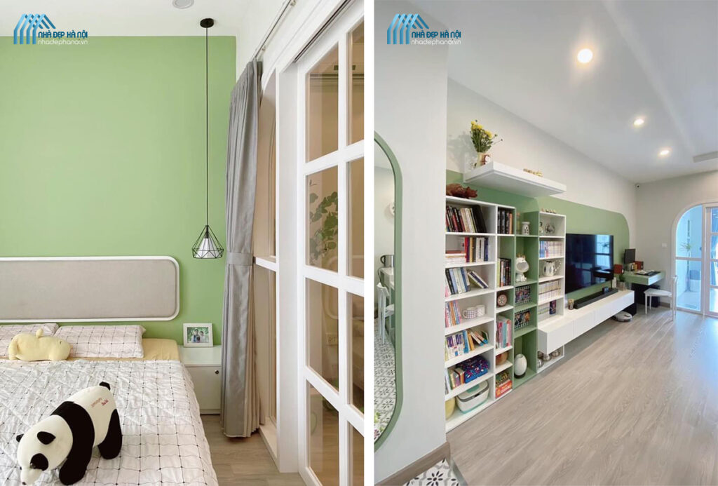 Cách thiết kế phòng ngủ nhỏ trở nên rộng rãi và nổi bật