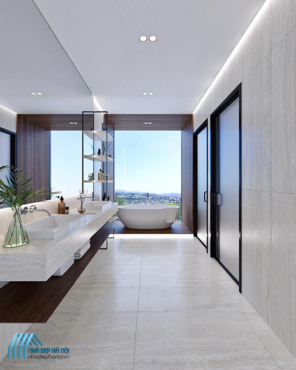 Bật mí cách thiết kế nhà tắm và nhà vệ sinh đẹp cho căn hộ chung cư