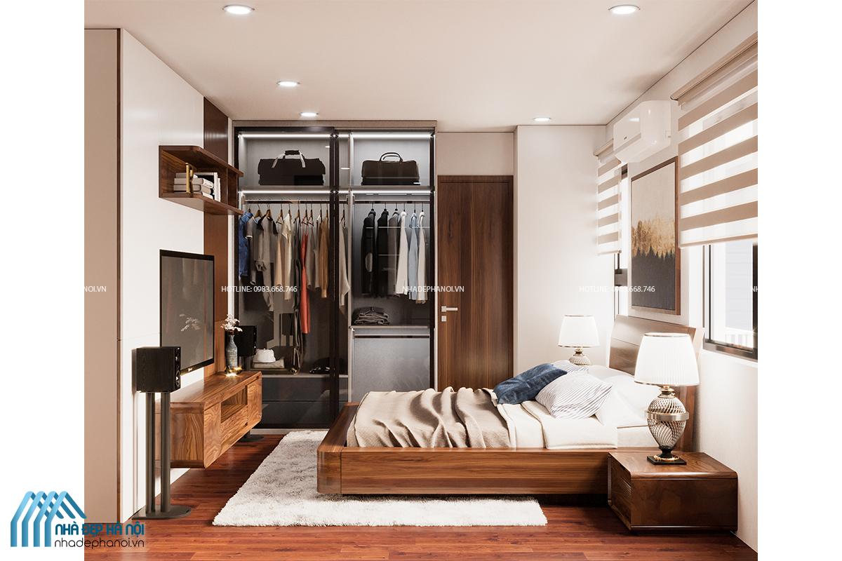 Thiết kế nội thất chung cư 3 phòng ngủ Green Park sang trọng, hiện đại