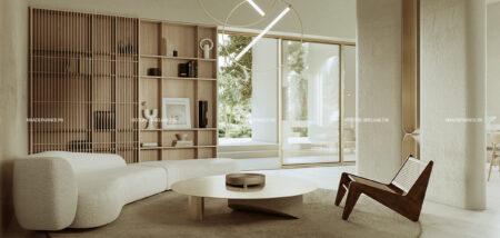 Thiết kế nội thất kiểu Nhật cho biệt thự mới lạ và độc đáo do chúng tôi thiết kế.