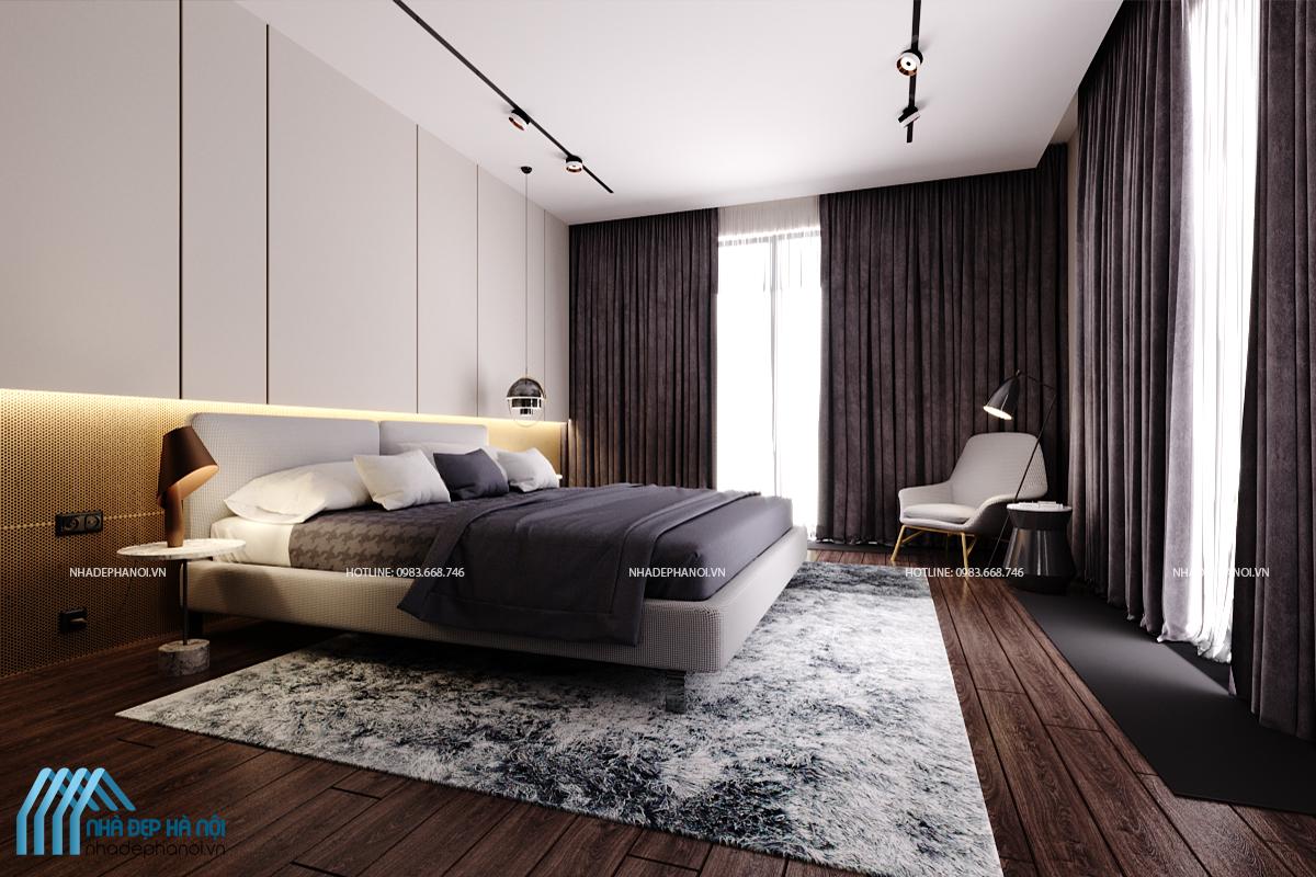 Mẫu thiết kế nội thất chung cư 60m2 HH1B Linh Đàm
