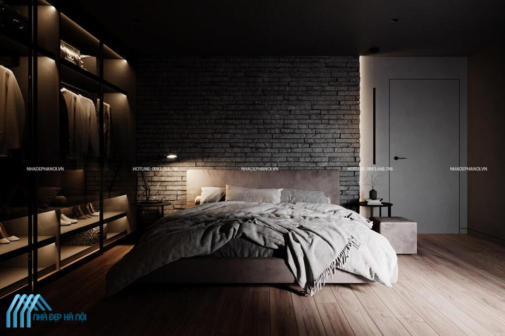 Thiết kế thi công nội thất biệt thự song lập tại Ecopark tối giản và tiện nghi.