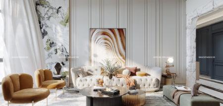 Thiết kế nội thất cho nhà ống phong cách Châu Âu sang trọng và tiện nghi