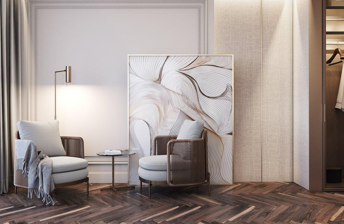 Thiết kế nội thất nhà phố hiện đại, sang trọng tại Đại Mỗ, Nam Từ Liêm