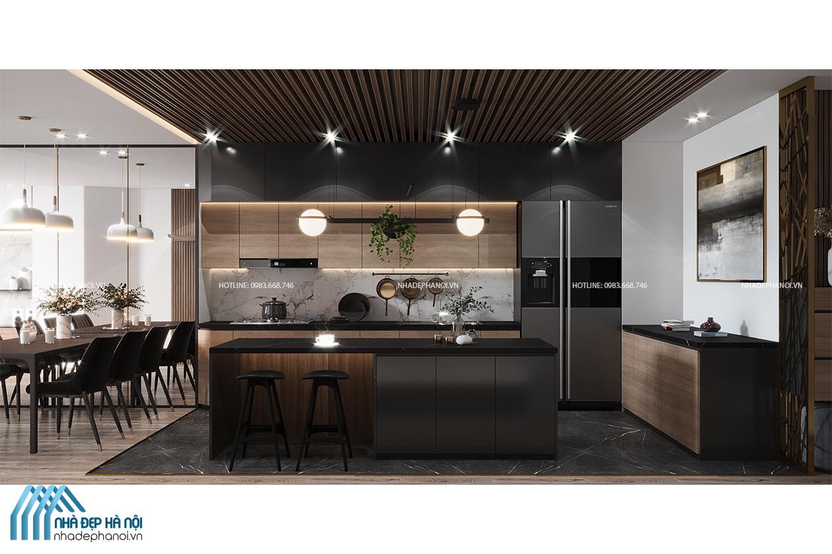 Thiết kế nội thất chung cư Vinhomes Ocean Park đẹp và tiện nghi