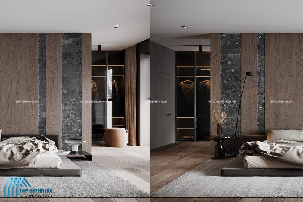 Thiết kế nội thất biệt thự Geleximco tinh tế, sang trọng và tiện ích