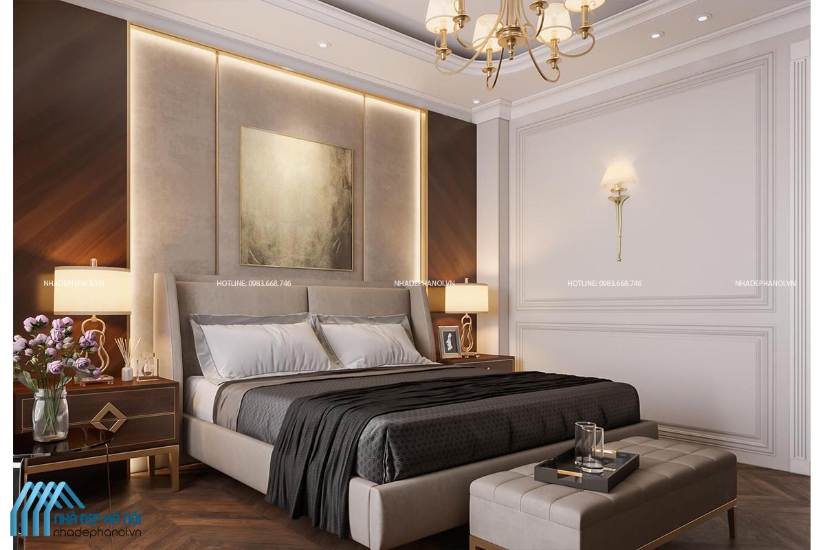 Mẫu thiết kế chung cư 2 phòng ngủ Penthouse Five Star Westlake cao cấp.