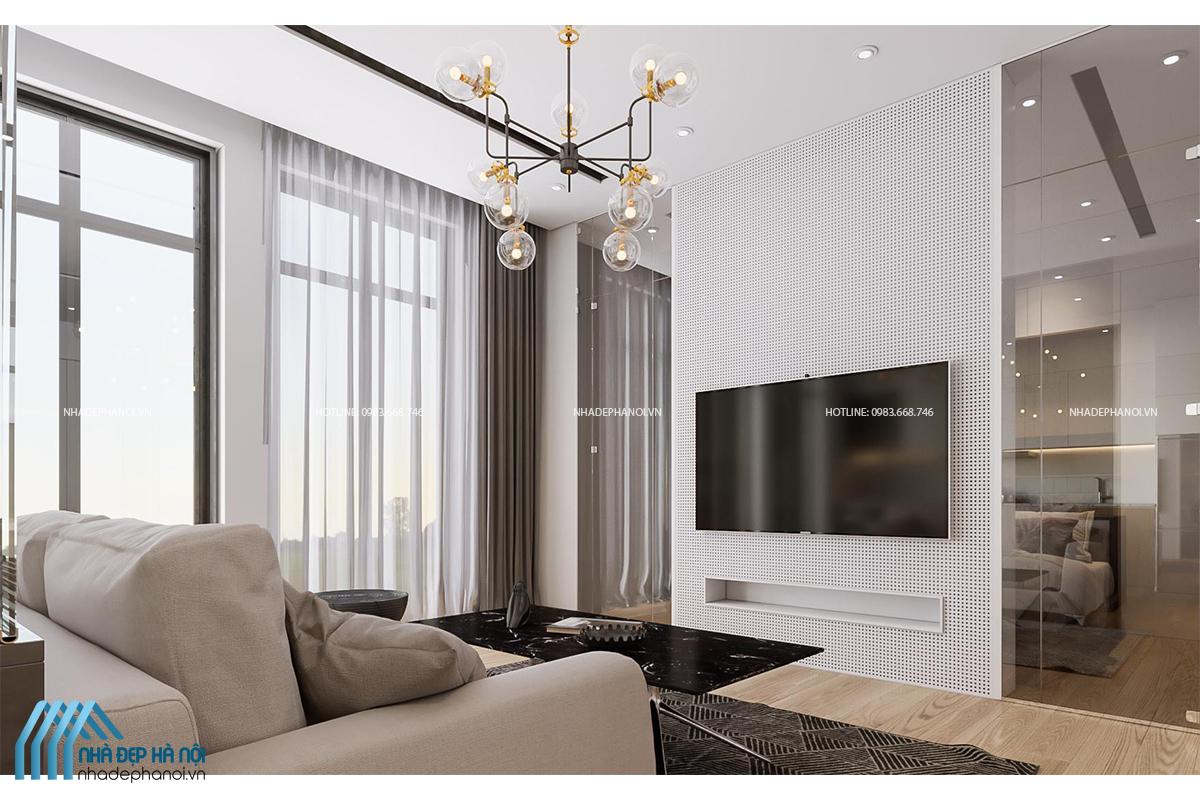 Thiết kế nội thất căn hộ chung cư An Bình City hiện đại, tiện ích.
