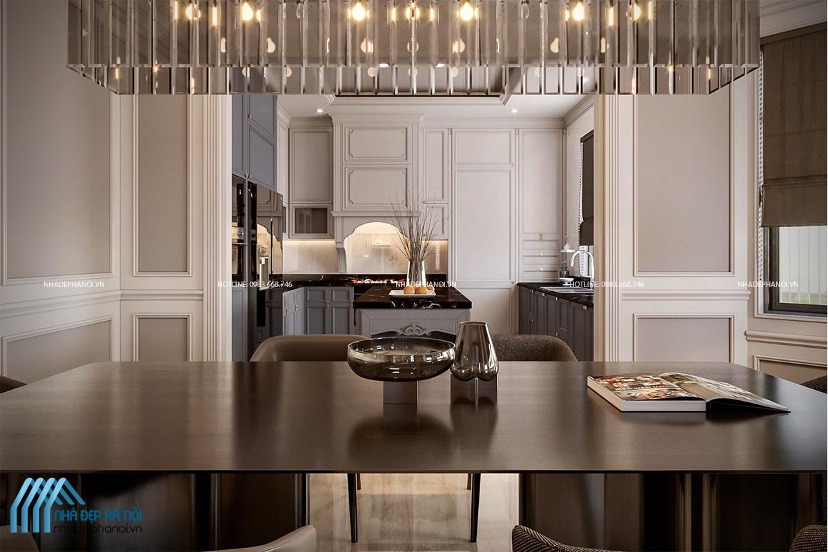 Thiết kế nội thất Eco Green City căn hộ Penthouse sang trọng, ấn tượng
