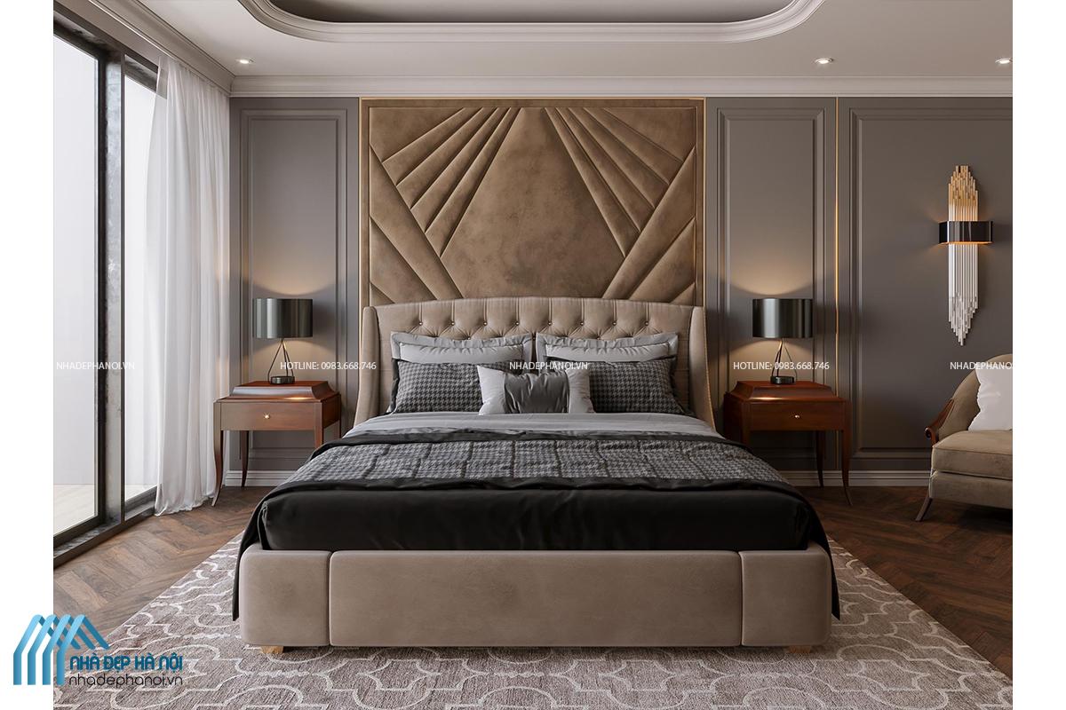Thiết kế phòng ngủ sang trọng, ấn tượng cho Penthouse tại Eco Green City.