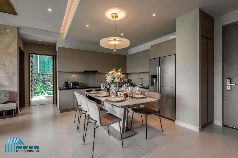 Thiết kế và thi công nội thất căn hộ Penthouse