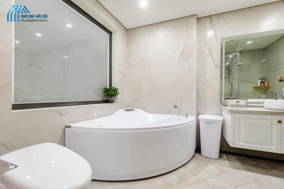 Bật mí cách thiết kế nhà tắm và nhà vệ si đẹp cho căn hộ chung cư