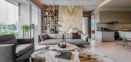Thiết kế và thi công nội thất căn hộ Penthouse – Gia đình anh Nghĩa.