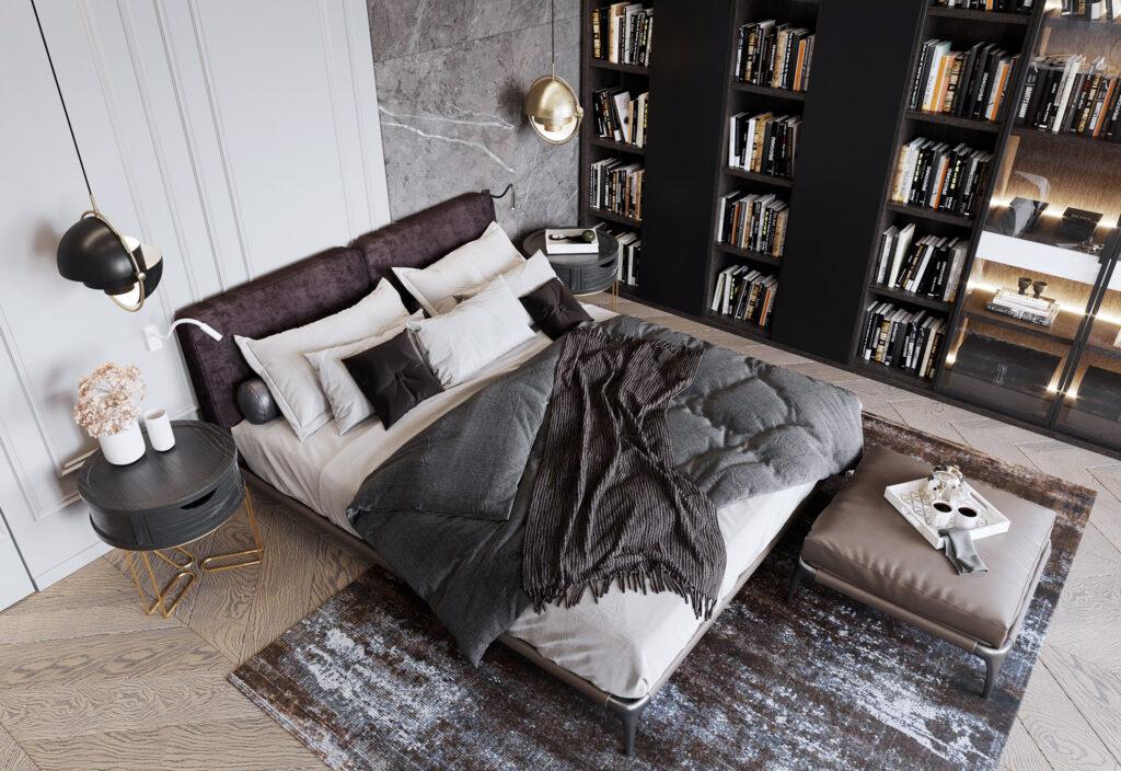 Các phương pháp ngăn phòng ngủ đẹp, gọn gàng cho căn hộ nhỏ.