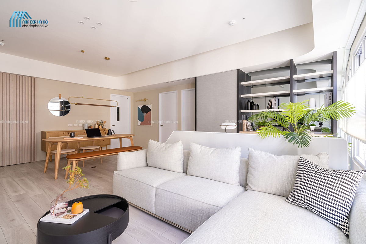 Thiết kế nội thất chung cư hiện đại cho Vinhomes Imperia – Hà Nội.