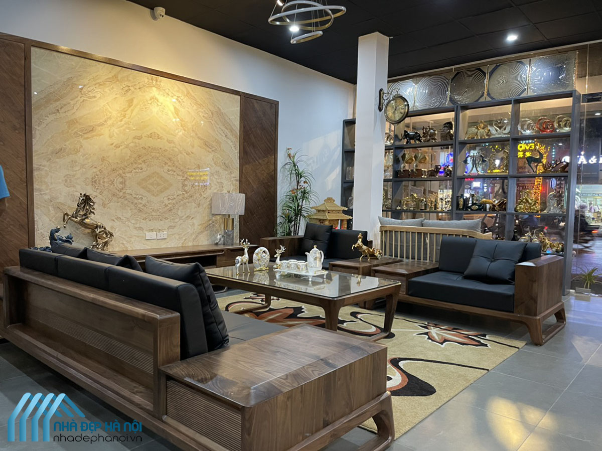 Thiết Kế Và Thi Công Nội Thất Showroom MỘC LÊ GIA – Mỗ Lao, Hà Đông